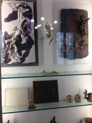 Lucio Fontana, Ceramics and small paintings