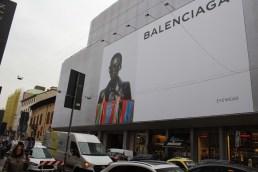 Balenciaga mega poster