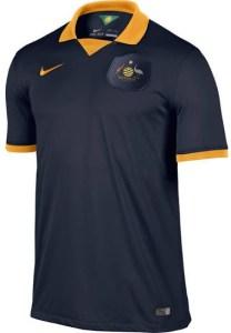 Austrlia 2014 World Cup Away Kit-1