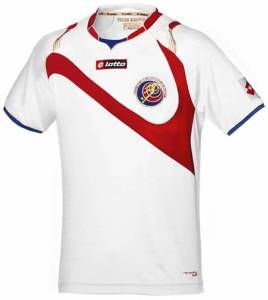 Costa Rica 2014 World Cup Away Kit