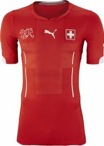 Switzerland 2014 World Cup Home Kit (1)