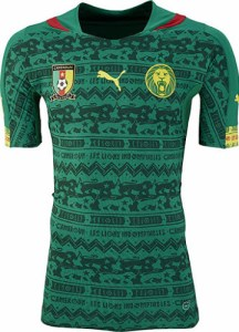 Cameroon+2014+World+Cup+Home+Kit