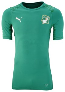 Ivory Coast 2014 World Cup Away Kit