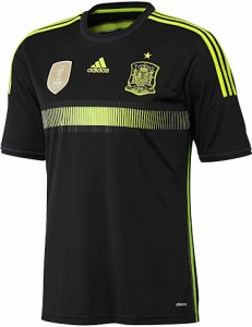 Spain 2014 World Cup Away Kit (1)