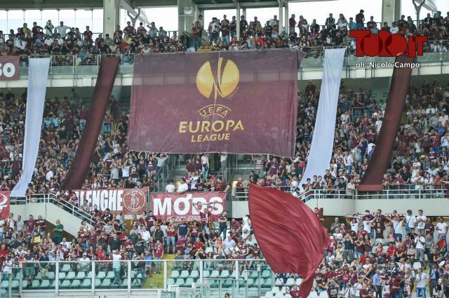 Torino Brommapojkarna curva europa league