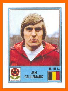 Ceulemans Euro 1980 PANINI