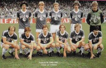 Anderlecht, 1980-81