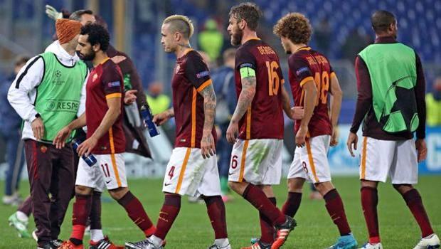 Una serata vissuta pericolosamente - Roma, Italia. Champions League