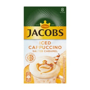 Jacobs Iced cappuccino salted caramel 142g