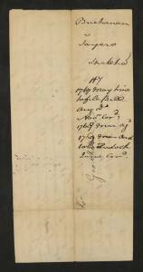 John Buchanan v. Robert Sayers. Augusta Chancery Court 1769