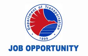 DOTr Job Vacancies