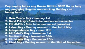 HB-No-5032-Regular-Holidays