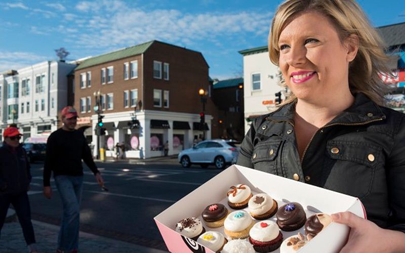 First Person: Sophie Kallinis LaMontagne of Georgetown Cupcake