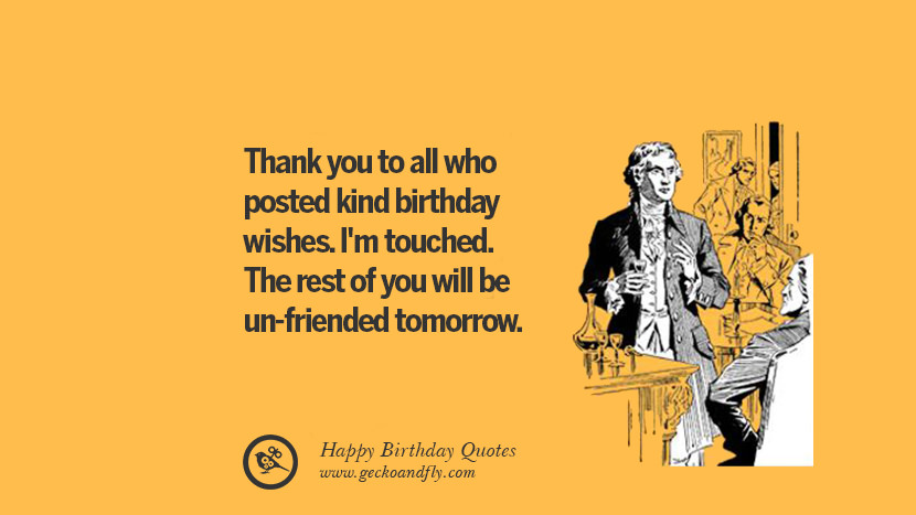 The Best Funny Happy Birthday Quotes And Wishes For Facebook Ann Portal