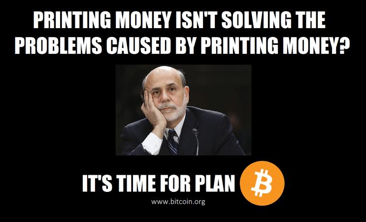 Bitcoin Bernanke
