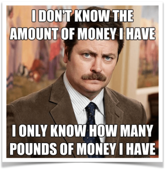Ron Swanson Money