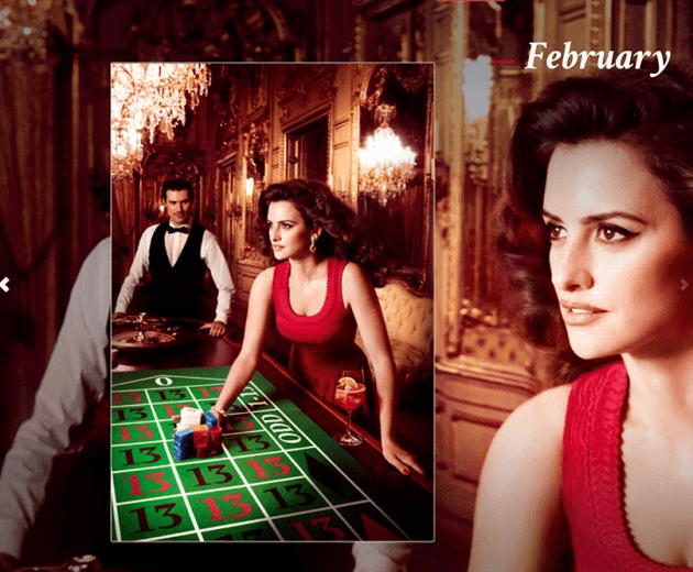 Campari_February-2013  Calendar starring Penelope Cruz by Fashion Photographer Kristian Schuller