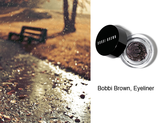 Autumn Colors by style blogger AnnRobieFashion - Bobbi Brown eyeliner