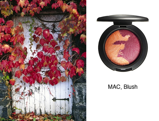 Autumn Colors in Your Cosmetic Bag by style blogger AnnRobieFashion - MAC Blush
