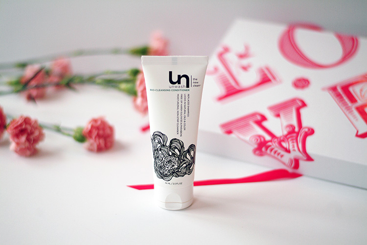 Glossybox February 2015: beauty reviews by AnnRobieFashion, unwash bio-cleansing conditioner