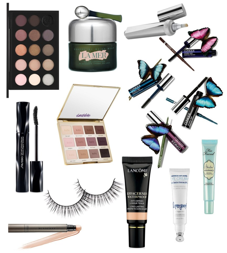Beauty Wish List by petite fashion blogger AnnRobieFashion - Under Eye Care & Makeup