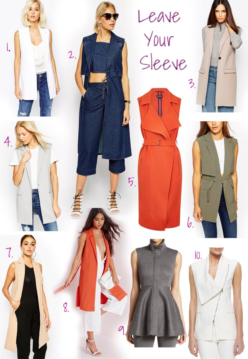 Fall 'must-haves' by style blogger AnnRobieFashion - Sleeveless Blazer, Vest or Jacket