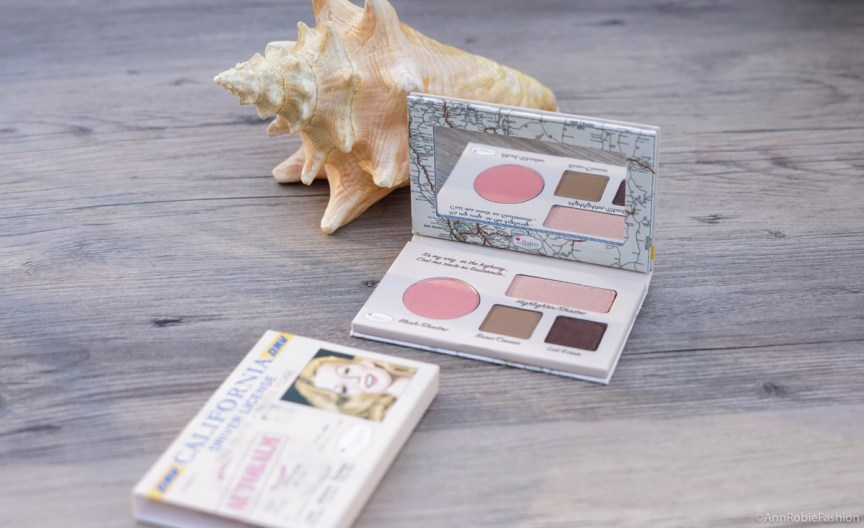 balm Cosmetics, Face Palette Blush, Highlighter, Eyeshadow - review by style blogger AnnRobieFashion