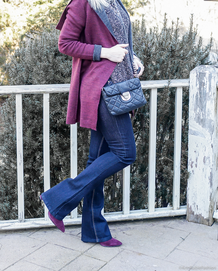 What to wear with hooded cardigan