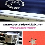Janome Artistic Edge Digital Cutter