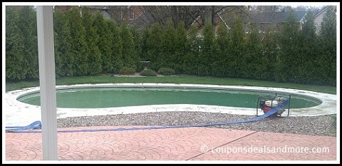 Filling In An In-ground Pool