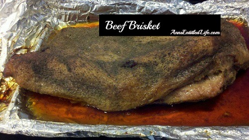 Beef Brisket Recipe. This is our family Beef Brisket Recipe. It is melt in your mouth terrific! We make this a few times a year, usually for gatherings and then we have leftovers. It also freezes very well for meals and sandwiches at a later date.