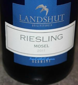 Aldi's Landshut Riesling Wine Review