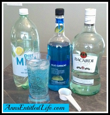 Drinking With Blue Curacao Liqueur