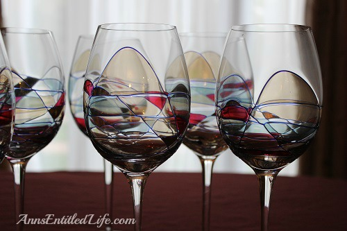 Hand Blown Glassware: Beautiful Hand Blown Crystal Wine and Cocktail Glasses