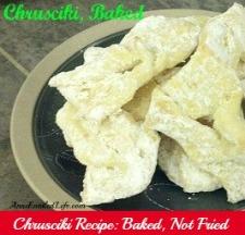 Chrusciki Recipe: Baked, Not Fried