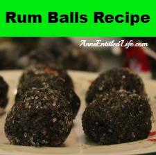 Rum Balls Recipe