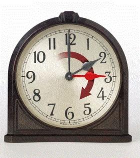 Set Your Clocks Back 1 Hour Tonight!
