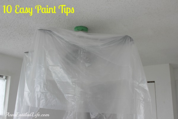 10 Easy Paint Tips