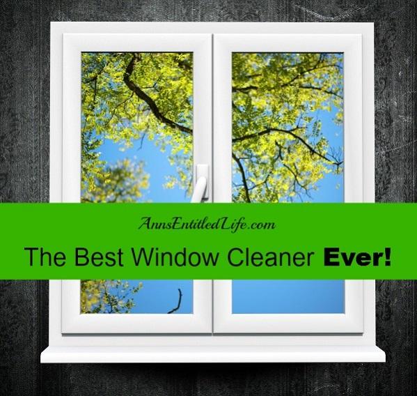 Best Window Cleaner Ever!
