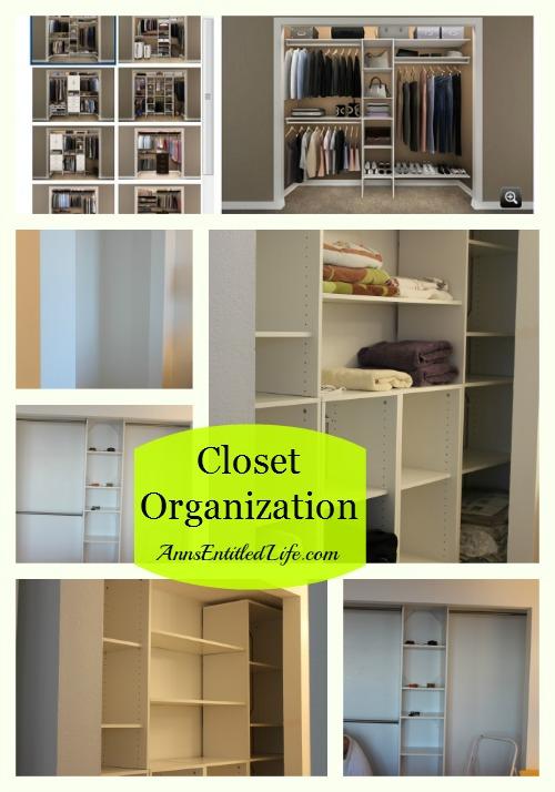 Closet Organization. Easy DIY closet organization that looks like a pro did it!