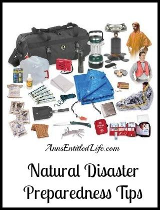 Natural Disaster Preparedness Tips