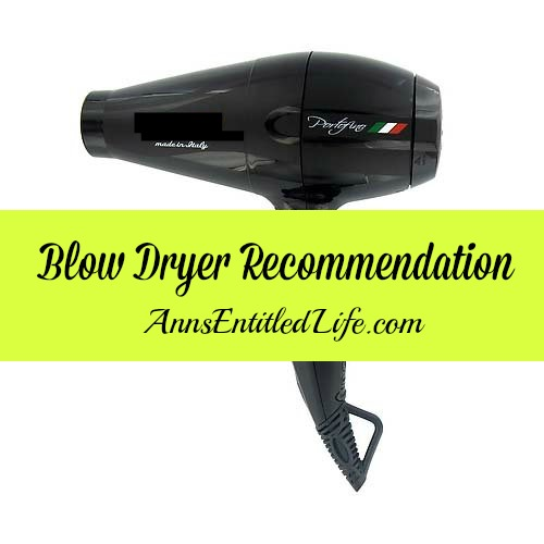 Hair Dryer Recommendation