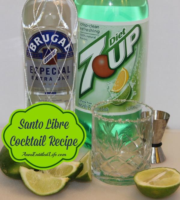 Santo Libre Cocktail Recipe