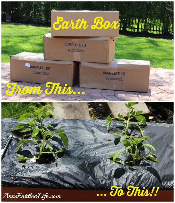 Earth Box Set-up. Step by step tutorial instructions on how to set up an earth box, perfect for container gardening.