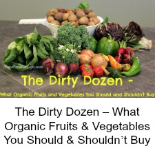 The Dirty Dozen – What Organic Fruits & Vegetables You Should & Shouldn't Buy