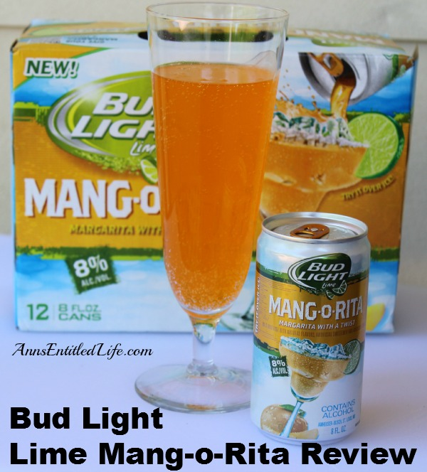 Bud Light Lime Mang-o-Rita Review