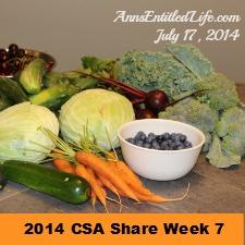 2014 CSA Share Week 7