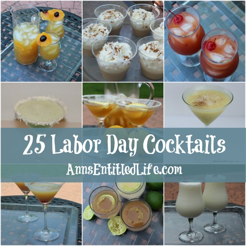 25 Labor Day Cocktails