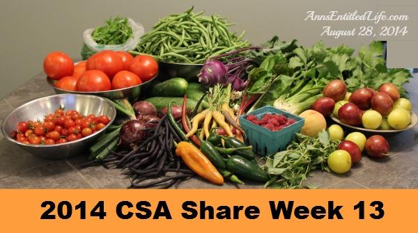 2014 CSA Share Week 13