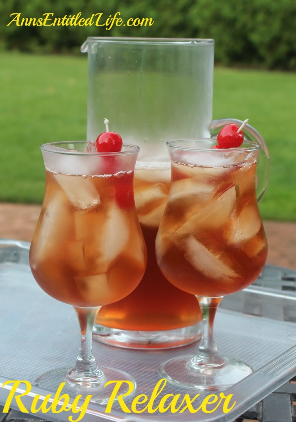 Ruby Relaxer Cocktail Recipe. How to Make a Ruby Relaxer Cocktail. A wonderfully refreshing drink, perfect for relaxing in the backyard, by the pool, or while watching the big game.